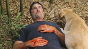 Matthew Fox in the Lost series finale