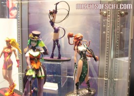 Ame-Comi statues - Lady Flash, lady Joker, Catwoman & Artemis