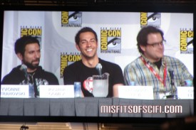 Chuck Panel - Joshua Gomez, Zachary Levi & Chris Fedak