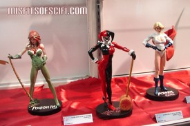 Cover Girls of the DC Universe - Poison Ivy, Harley Quinn & Power Girl