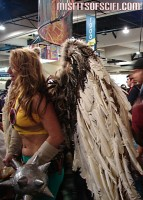 Hawkgirl with best wings I saw all Con