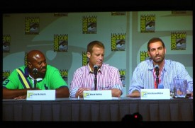 Human Target Panel - Chi McBride, Mark Valley & showrunner Matthew Miller