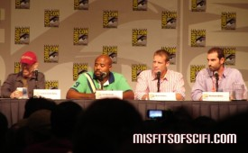 Human Target Panel - Jackie Earle Haley, Chi McBride, Mark Valley & showrunner Matthew Miller 2