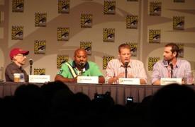 Human Target Panel - Jackie Earle Haley, Chi McBride, Mark Valley & showrunner Matthew Miller