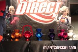 Lantern and ring replicas at DC Booth