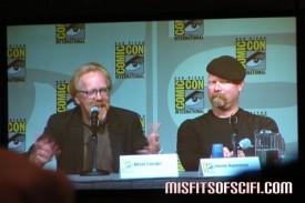 Mythbusters panel - Adam Savage & Jamie Hyneman