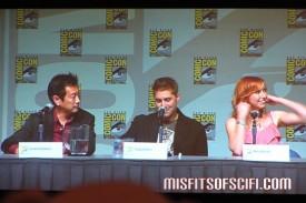 Mythbusters panel - Grant Imahara, Tory Belleci & Kari Byron