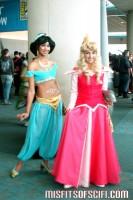 Princess Jasmine & Princess Aurora