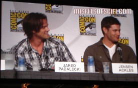 Supernatural Panel - Jared Padalecki & Jensen Ackles 2