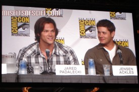 Supernatural Panel - Jared Padalecki & Jensen Ackles