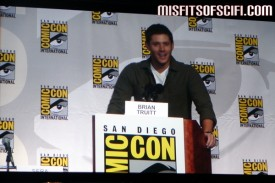 Supernatural Panel - Jensen Ackles introduces clip from episode he directed