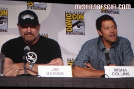 Supernatural Panel - Jim Beaver & Misha Collins