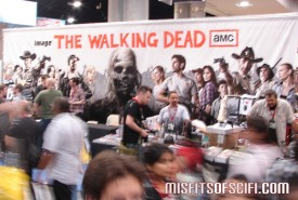 Very cool though slightly blurry Walking Dead banner