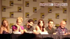 Walking Dead Panel - Emma Bell, Laurie Holden, Jon Bernthal, Sarah Wanye Callis, Andrew Lincoln, Frank Darabont