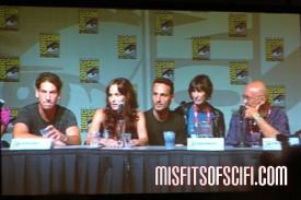Walking Dead Panel - Jon Bernthal, Sarah Wayne Callis, Andrew Lincoln, Gale Anne Hurd, Frank Darabont
