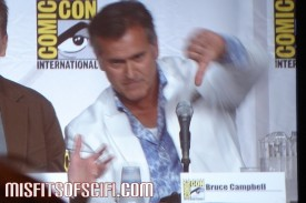 burn notice panel bruce campbell demonstrates opinion of larry