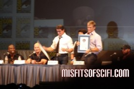 expendables panel stallone lundgren receive guiness record certificates