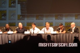 expendables panel with willis