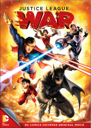 Justice League War Key Art