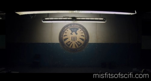 Old SHIELD Logo in Unidentified Facility