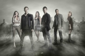 THE ORIGINALS (L-R) Phoebe Tonkin, Joseph Morgan, Danielle Campbell, Daniel Gillies, Charles Michael Davis and Leah Pipes star in Warner Bros. Television's The Originals, returning October 6 and airing Mondays 8/7c on The CW. (Photo Credit: © Warner Bros. Entertainment Inc. All Rights Reserved.)