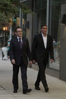 PERSON OF INTEREST (L-R) Michael Emerson and Jim Caviezel star in Warner Bros. Television's Person of Interest, returning for its fourth season September 23 and airing Tuesdays 10/9c on CBS. (Photo Credit: © Warner Bros. Entertainment Inc. All Rights Reserved.)